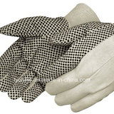 Защитные ПВХ пунктирной Canvas перчатки Canvas Mclaren перчатки
