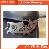 500W / 1000W en acier inoxydable de machine de découpe laser à fibre pour tôle Traitement / Ustensiles de cuisine / Ascenseurs