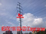 Megatro 110kv 1ggd4-Szg1 DC Tangent beeps to Tower