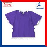 Healong 새로운 디자인 운동복 혼합은 승화 남자의 라크로스 셔츠를 치수를 잰다