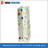 Verpacken- der Lebensmittelbeutel-weißer Packpapier-Beutel