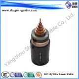Meio Voltage/XLPE isolado/subterrâneo de Cabel
