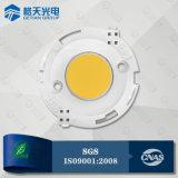 Alta eficacia luminosa 140lm/W 15W LED de la COB CRI80 para obtener una magnífica iluminación comercial