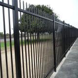 黒2.1X2.4mの装飾的な金属の塀のパネル