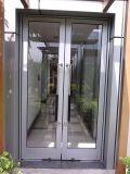 Алюминиевая стеклянная французская дверь (наружная дверь Casement)