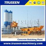 Máquina de procesamiento por lotes por lotes concreta de la construcción de una fábrica Hzs35 para la venta