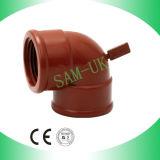 Gomito del PVC, gomito della conduttura del PVC, gomito dell'accessorio per tubi del PVC