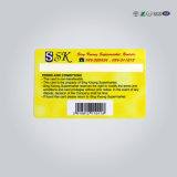 Carte réinscriptible d'IDENTIFICATION RF de contact sec de PVC d'OIN Tk4100