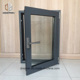 Черный цвет тепловой вырваться из алюминия окна