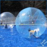 熱い販売のためのZorbing膨脹可能な水歩く球