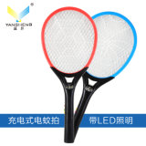 2LED (試供品)のDomestic Useのための環境に優しく、Rechargerable Electric Mosquito Swatter Tennis Racket