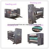 최상에게 자동에게 판지 상자 만들고 & 2 Slotter로 인쇄하는 색깔