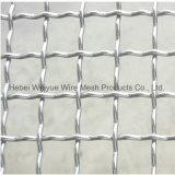 編まれたひだを付けられた金網の電流を通されるか、または装飾的な網