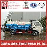 Dongfeng 4*2 канализационных погрузчик всасывания малых вакуумной очистки сточных вод погрузчик 5 тонн
