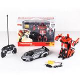 Jouet télécommandé Radio Control Transformer Robot Car Toy (H3386157)