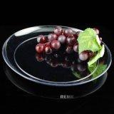 """Plateau remplaçable de plaque en plastique ronde de plaque de la vaisselle 9 """""""