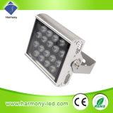 CE y RoHS de alta potencia de 18W LED resistente al agua de iluminación de inundación