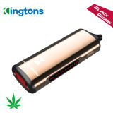 Kingtons Cigarrillo Electronico Nueva ventana negro de vapor de hierbas secas mayorista vaporizador quería