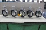 Valvola a farfalla di stile della cialda dell'acciaio inossidabile con il disco di lucidatura (CBF02-TA01)