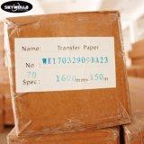 Documento di sublimazione di scambio di calore di alta qualità di formato del rullo per stampa