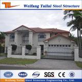 Casa pré-fabricada da construção da venda econômica e quente do edifício da construção de aço