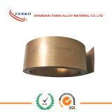 Manganin de Strook /wire/sheet/coil/Tape van de Strook Cu86mn12ni2 (6J12)