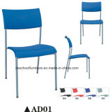 Training를 위한 Poplular Office Furniture Plastic Chair