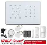 GSM Alarm Home Security van Wireless van de inbreker met RFID Card