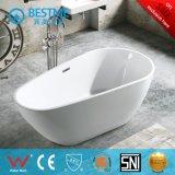 Diseño especial forma de huevo Arte acrílico bañera (BT-S2567)