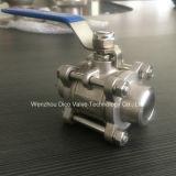 Estremità Weld Industrial Grade 3PC Ball Valve