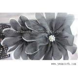 Accessori decorativi dell'indumento del fiore multicolore chiffon di Headwear di modo di adattamento