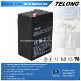 Batería recargable de la energía de VRLA-AGM (6V4ah)