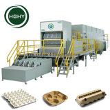 Hghy pulpa de papel automático de bandeja de moldeo por línea de producción de la caja de huevo