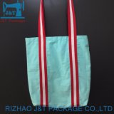 Venda por grosso de lona 100% orgânico sacos de algodão artesanais