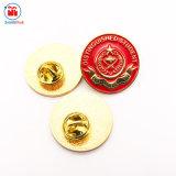 Venda por grosso de ouro de Metal Cadet College Larkana Pin de lapela do aluno