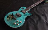 Guitare électrique de Lp avec le Fingerboard de marqueterie de serpent dans la couleur bleue (GLP-524)