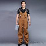Bavoir lourd et support de sergé de Dungarees de travail de constructeurs de pantalons de Mens de façon générale (BLY4002)