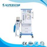 Machine van de Anesthesie van het Karretje van S6100d 2018 de Multifunctionele met Ventilator voor Volwassene