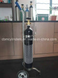 De draagbare Reeks van de Levering van de Zuurstof (7L Geplaatste de Cilinder van O2 van het Staal)