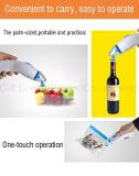Handvakuumabdichtmasse, dichtendes System, zum der Nahrungsmittelsparenden längeren handlichen Hohlraumversiegelung, Haushalts-Vakuumgerät zu halten