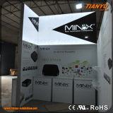 Diseño portable de la cabina de la exposición de la feria profesional