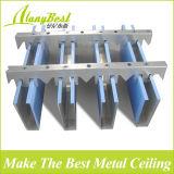 Потолок простирания деревянного цвета Foshan алюминиевый для украшения мола