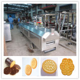 Производственная линия печенья цены по прейскуранту завода-изготовителя/печенье изготовляя оборудование печенья машины