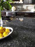 Base d'appoggio verde smeraldo all'ingrosso del granito della perla dell'isola di cucina di vanità della stanza da bagno