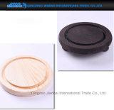 крышка купола печенья сыра торта диаметра 15cm Handmade стеклянная