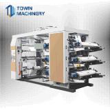 Печатная машина Flexo бумажного мешка 6 цветов высокоскоростная