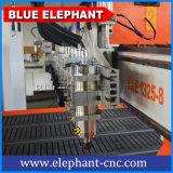 1325 één Hoofd met CNC van het Knipsel van Acht Assen de Computergestuurde 3D Houten Machine van het Ontwerp van het Meubilair voor Massaproduktie