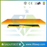 1ton 3ton fijo personalizado de tijera hidráulico eléctrico de la plataforma de elevación