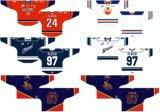 Hokey di ghiaccio alternato personalizzato delle giacche sportive 1998-2015 occidentale di Kamloops della Lega di Hockey dei capretti delle donne degli uomini Jersey