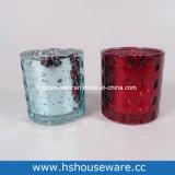 De verschillende Houders van de Kaars van het Glas van de Stijl Kleurrijke